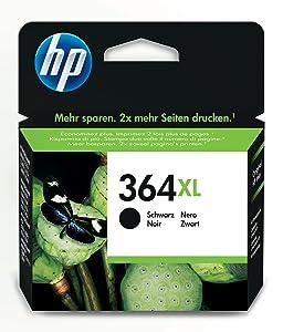 HP 364XL High Yield Black Original Ink Cartridge CN684EE