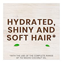 hydrated shiny and soft hair