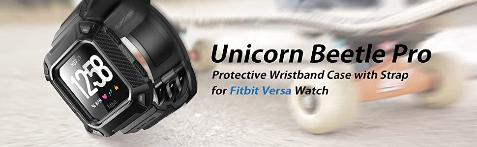 Amazon.com: SupCase Watch Bands for Fitbit Versa & Fitbit