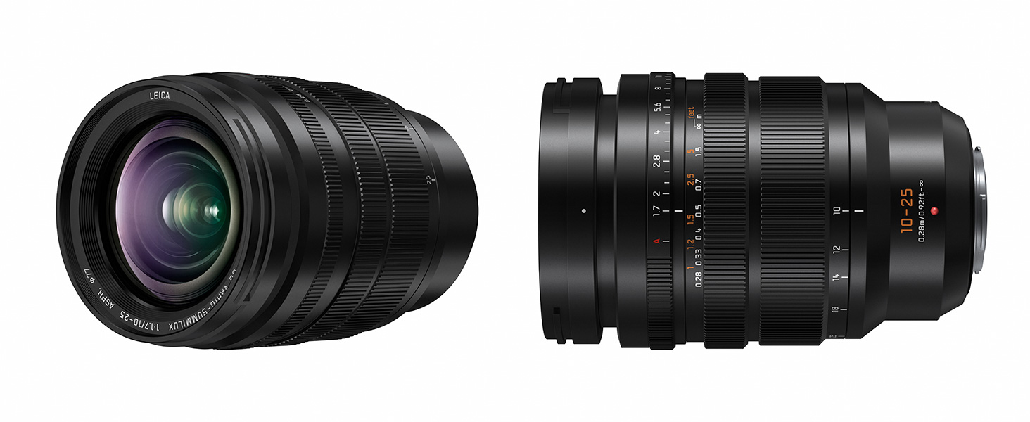 Amazon Com Panasonic Lumix G Leica Dg Vario Summilux 10 25mm F1 7 Asph Lens Stepless Aperture Video Performance Mirrorless Micro Four Thirds Mount H X1025 Camera Photo