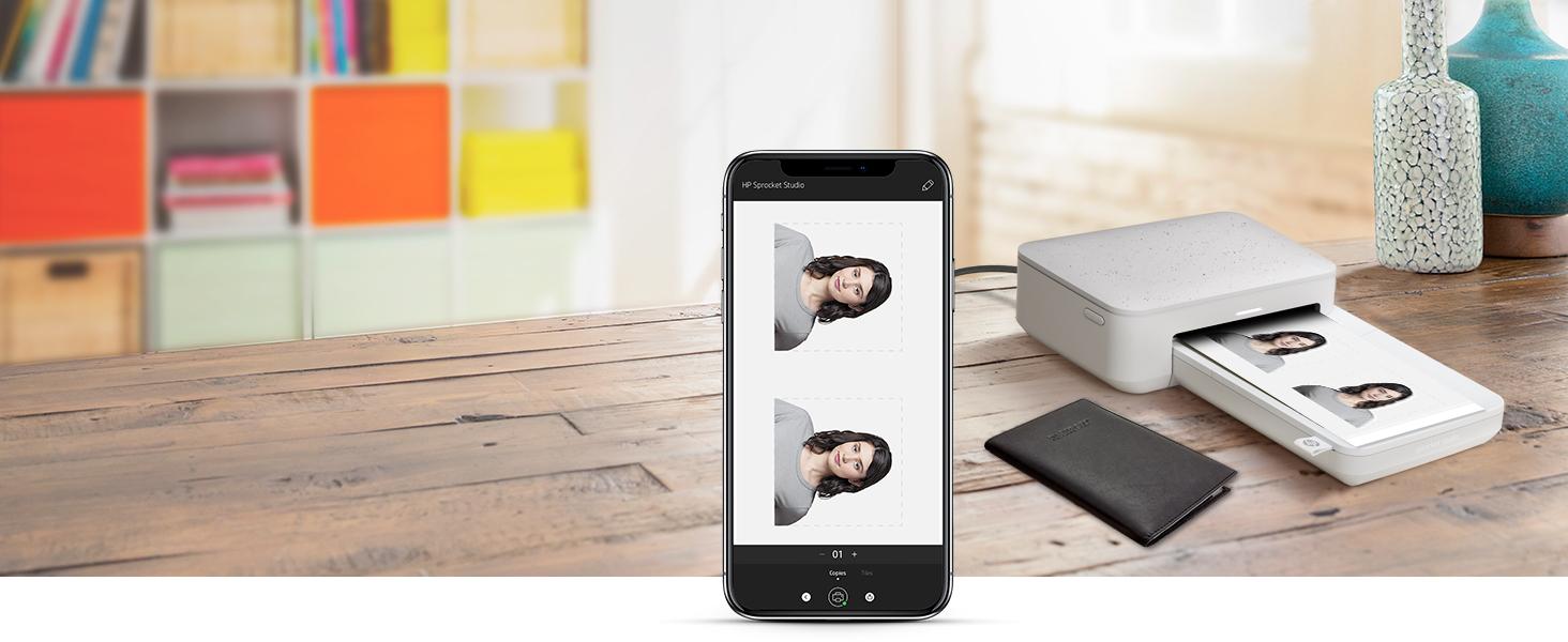 photo ID headshot phone printing sprocket app