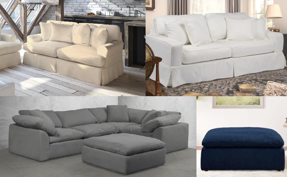 slipcovered,slipcovers,living room furniture,stain resistant,smart fabric