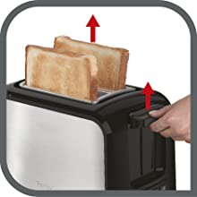 pratique grille pain toaster express tefal TT410D10