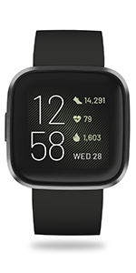 Fitbit; Versa 2; Versa 2 Special Edition; smartwatch; female health; men health; voice to text