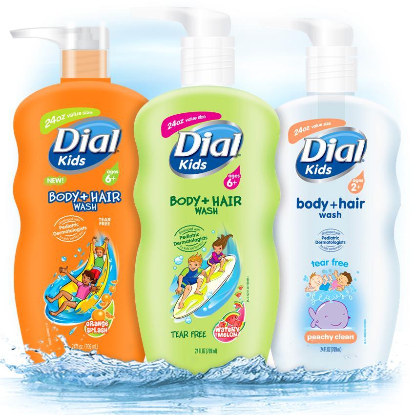 Amazon Com Dial Kids Body Wash Peachy Clean 12 Ounce