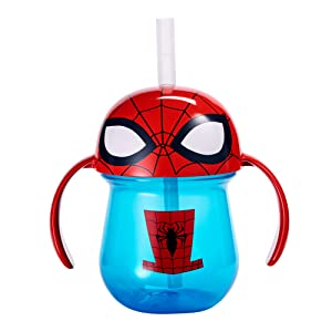 spiderman sippy cup trainer cup