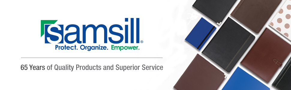 Samsill Office Supplies Binders Notebooks Quality Products and Superior Service for 65 Years