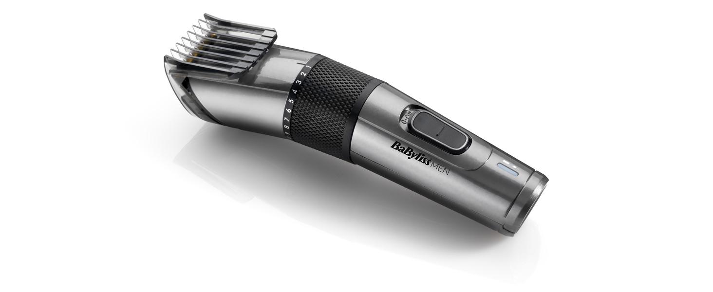 BaByliss MEN E978E Cortapelos profesional, cuchillas de titanio de ...