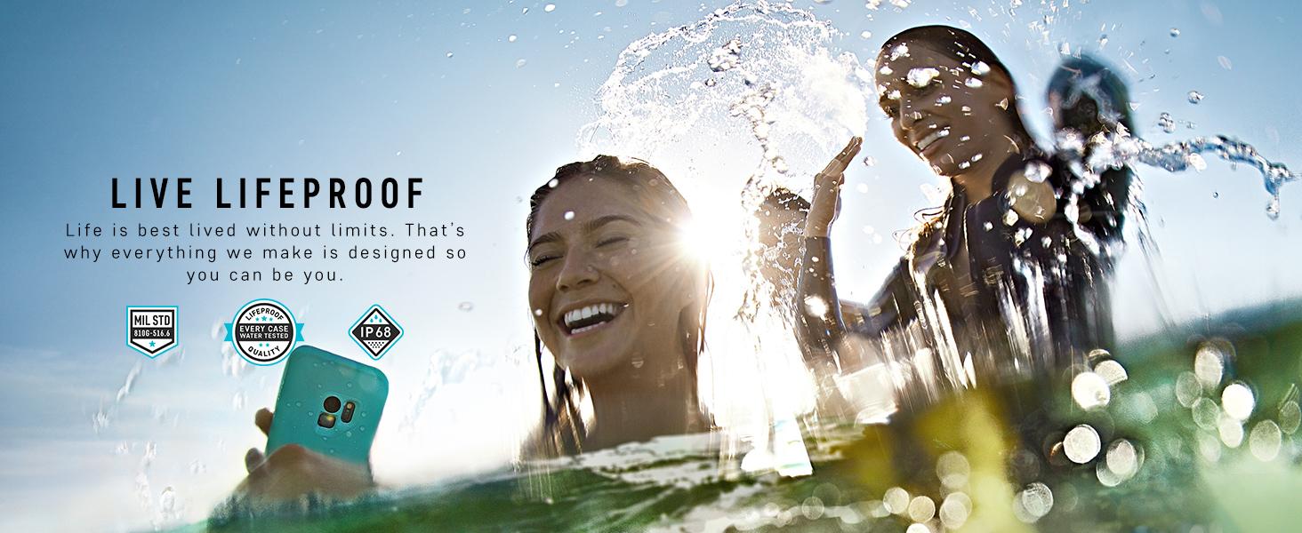 Lifeproof Fr Series Waterproof Case For Samsung Galaxy S6 Fre 77 51242 Black