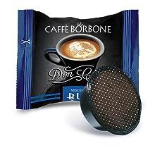 Caffè Borbone Don Carlo Miscela Nera - Confezione da 100 Capsule - Compatibili con macchine a marchio Lavazza®*A Modo Mio®*