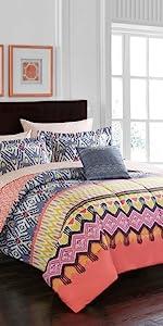 Amazon Com Pop Shop Marble Comforter Set Twin Rose Gold