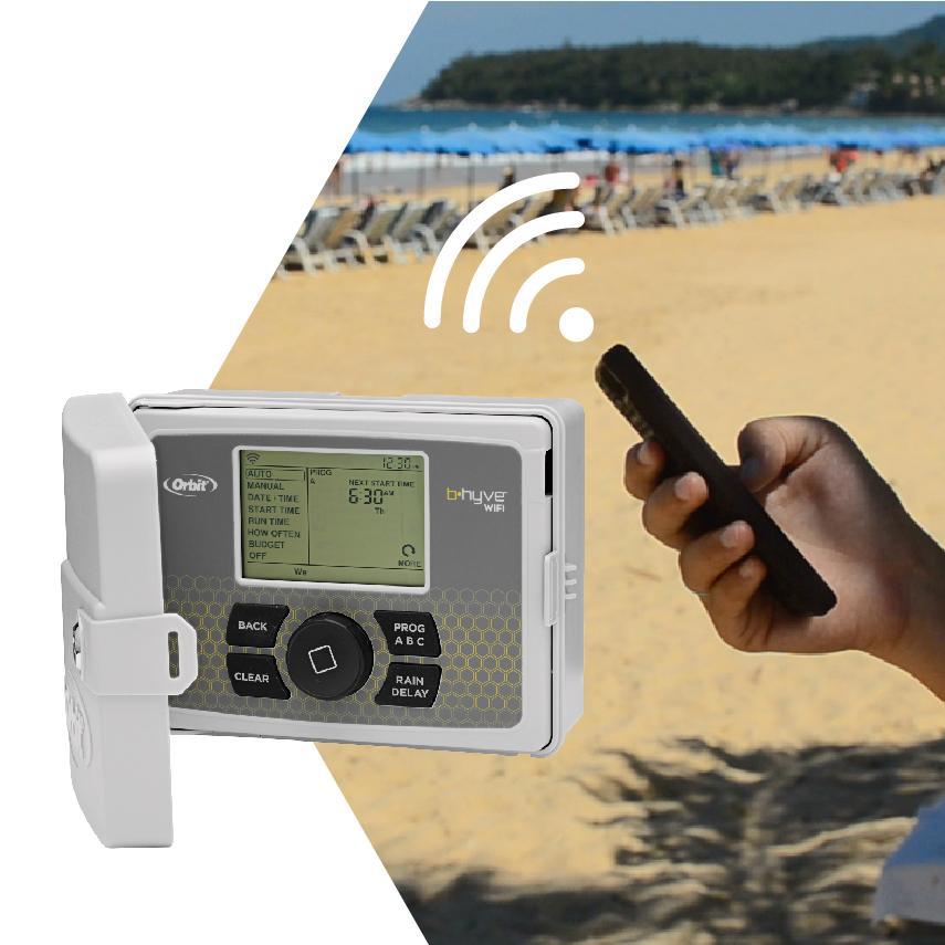 Amazon Com Orbit 57950 B Hyve Smart Indoor Outdoor 12
