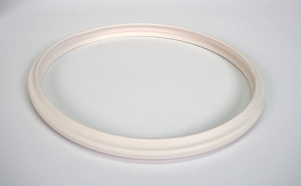 Sanfor Junta de Goma de Sellado para Tapa rápida Adaptable a Olla a presión Magefesa | Caucho | Blanca | 22 x 22 x 2 cm: Amazon.es: Iluminación