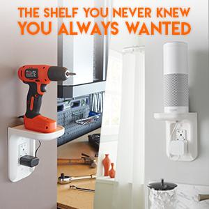 charging shelf wall outlet shelf phone charging shelf drill shelf play:1 shelf play 1 shelf sonos