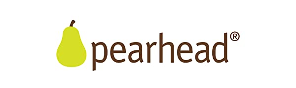 Pearhead logo. Pearhead offers a variety of gifts and keepsakes for every occasion.