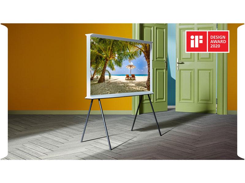 The Serif 4K Smart TV