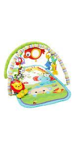 Fisher-Price - Gimnasio musical animalitos - juguetes bebe