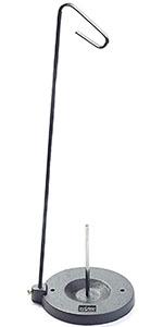 プリム(Prym) 糸立スプールスタンド 工業用 1個 ブラック×シルバー PRM9430 ミシン針