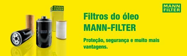 Filtro do óleo MANN-FILTER