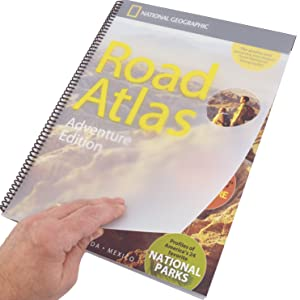 Road Atlas opening cover