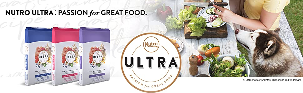 Nutro Ultra Passion for Great Food, Nutro Ultra Dry Dog Food, Protein, Dog Food, Dog Kibble, Veggies