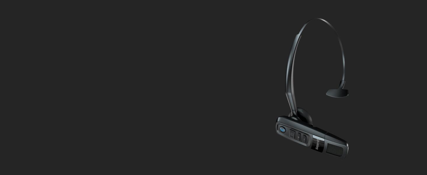Blueparrott C300 Xt 80 Noise Cancelling Kompaktes Bluetooth Headset Mit Großer Reichweite Schwarz Elektronik