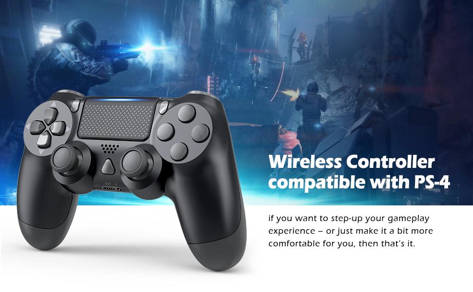balck wireless controller