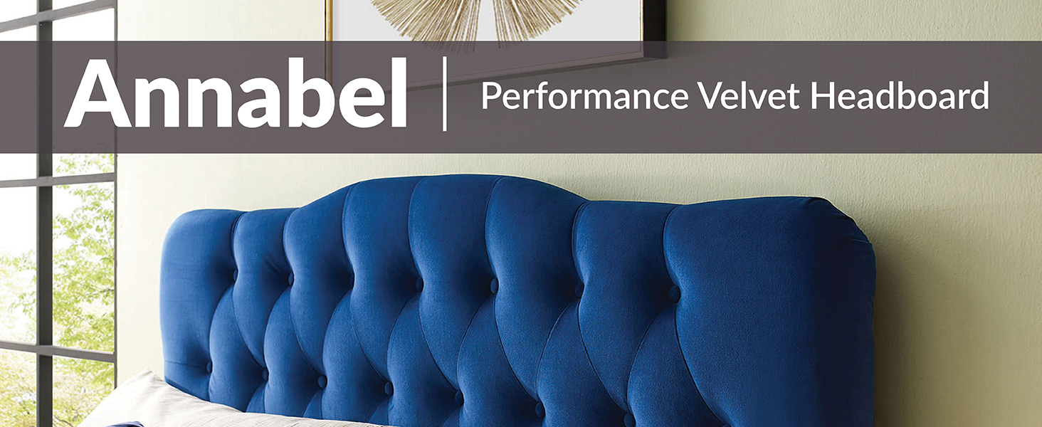 Diamond Tufted,Performance Velvet,King Headboard,vintage glamour,master suite,stain-resistant