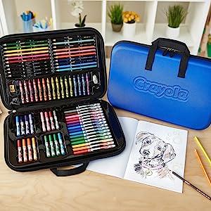 art case, art set, art kit, crayola art case, crayola inspiration art case, gift for kids, art suppl