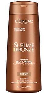 self tanner, bronzing lotion, bronzer lotion