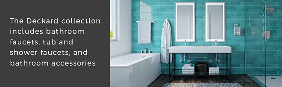 Pfister Deckard bathroom fixtures
