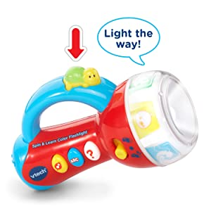 VTech Spin and Learn Color Flashlight | Exclusive Top ...