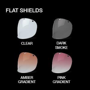 bell custom 500 motorcycle helmet flat shields