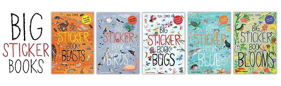 big sticker books