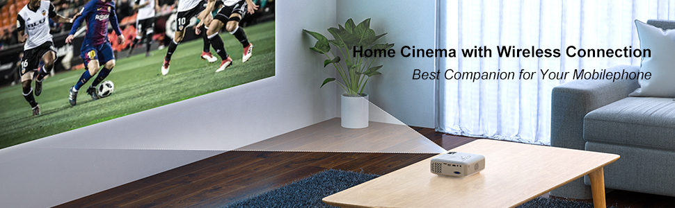 proyector cine bluetooth wifi