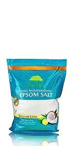 Tree Hut Coconut Lime Epsom Salt Soak Dr Teals Moisturize Soothe Hydrate Dry Skin Nourish