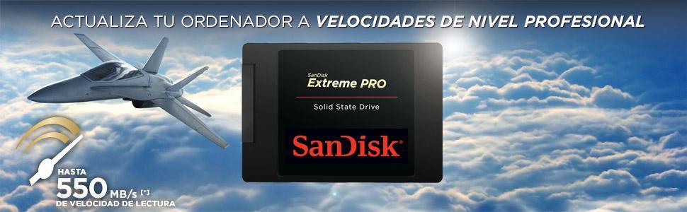 Sandisk Extreme Pro - Disco Duro sólido Interno SSD de 240 GB ...