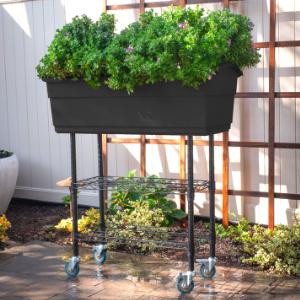Amazon.com: Watex - Cama elevada para jardín: Jardín y ...