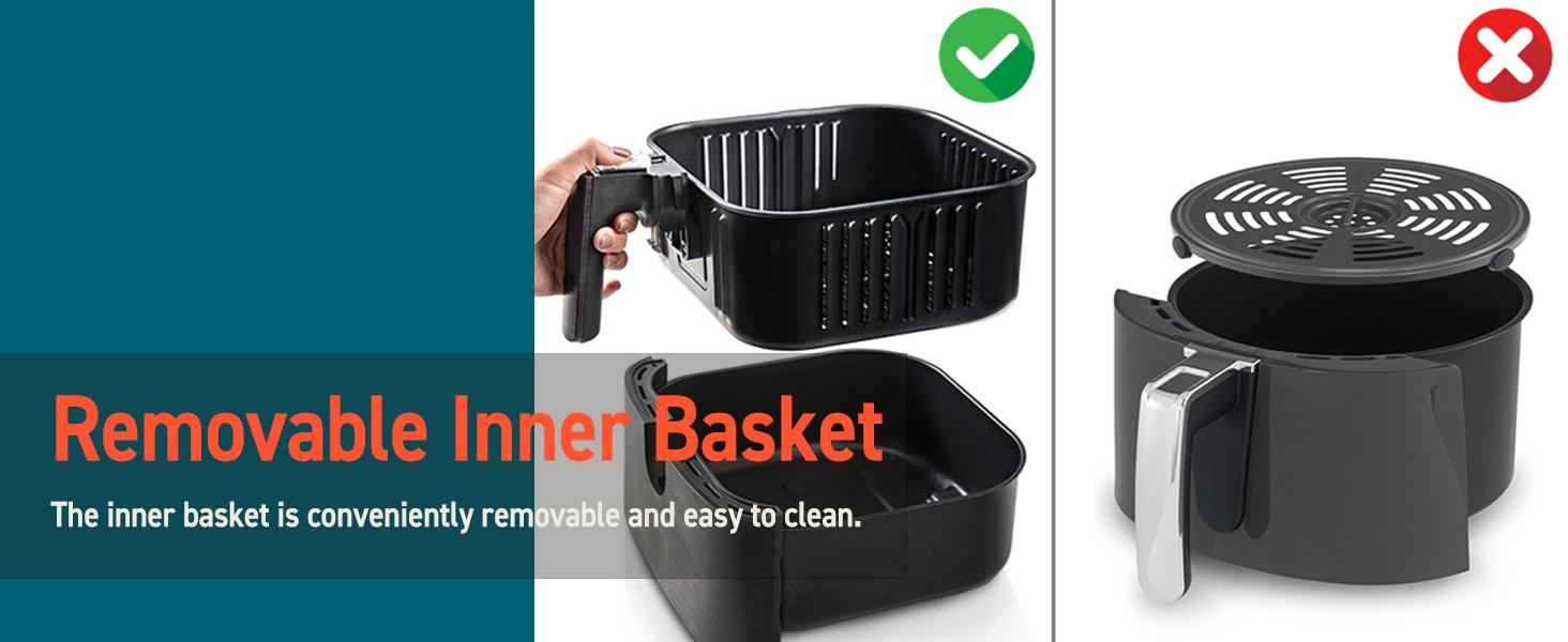 Removable Inner Basket