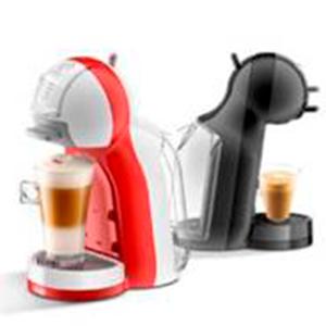 DeLonghi Dolce Gusto Mini Me EDG305.BG - Cafetera de cápsulas, 15 bares de presión, color negro y gris
