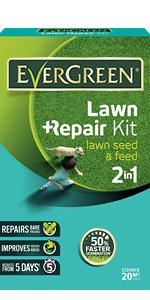 EverGreen Lawn Repair Kit Lawn Seed & Feed