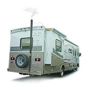 RV exhaust venting system; Gen-Turi; RV accessories