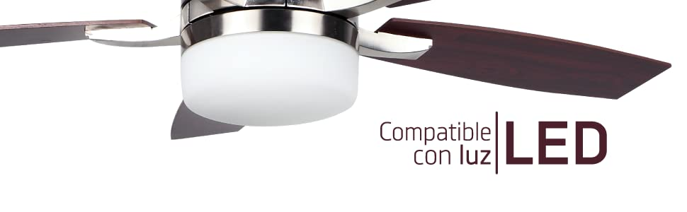 Orbegozo CP 79132 Ventilador de Techo con Mando a Distancia, 5 ...