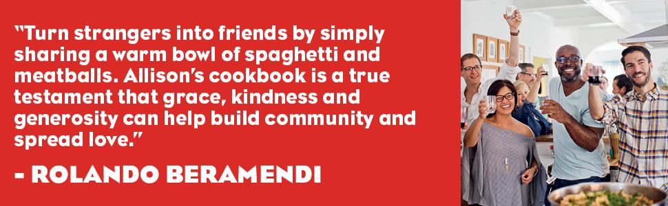 wine, pasta, recipes, party, gathering, rolando beramendi, community, love, spaghetti