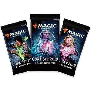 Core Set 2019 M19 Booster Packs Tezzeret Artifice Master Liliana Vess the Necromancer