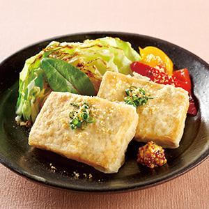 <おすすめレシピ>豆腐ステーキ