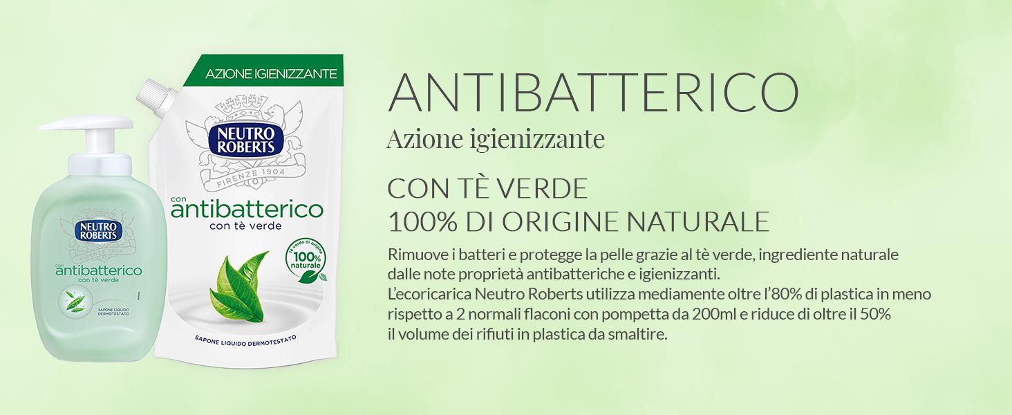 antibatterico neutro roberts