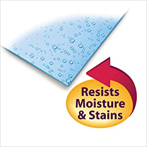 Smead Press Guard classification file folders, special coating resists moisture and stains
