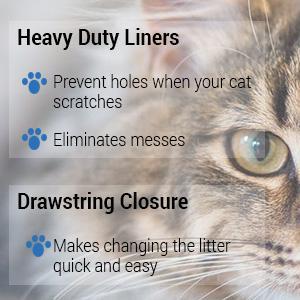 Amazon Com Jonny Cat Heavy Duty Litter Box Liners Jumbo