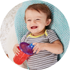 Amazon Com The First Years Take Toss Spill Proof Sippy Cups 10 Ounce 4 Count Sippy Cups Baby